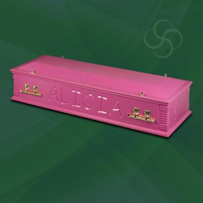 Artiste Britannia Casket Bright Pink