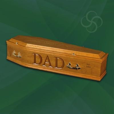 Artiste Coffin Medium Oak