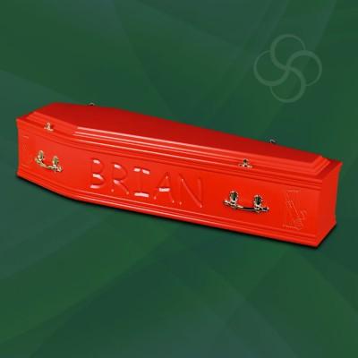 Artiste Coffin Red