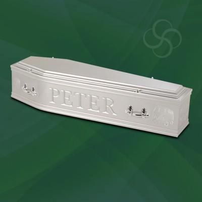 Artiste Coffin Silver