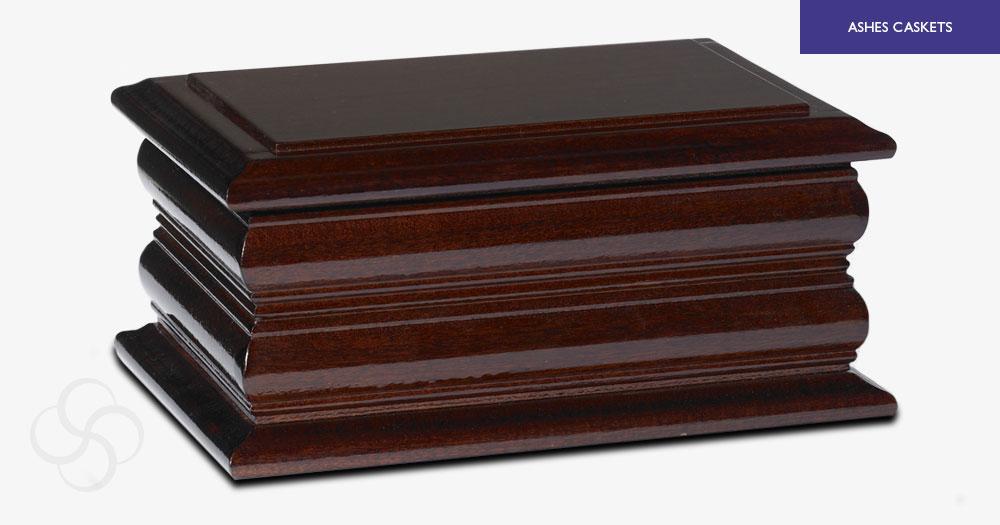 Dark Mahogany Carlisle Ashes Casket
