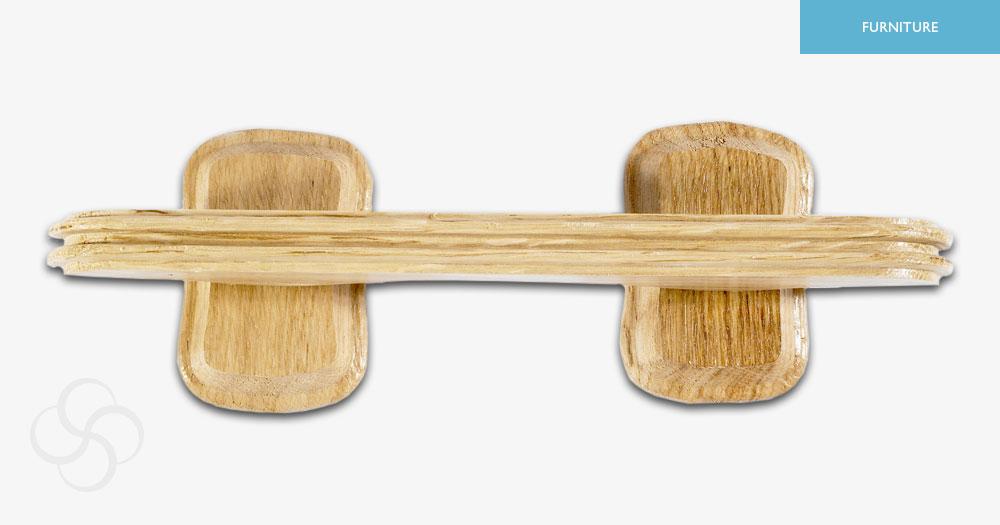 Light Oak Wooden Handles
