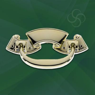Lyme Handles Metal Gold