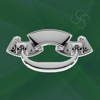 Lyme Handles Metal Silver
