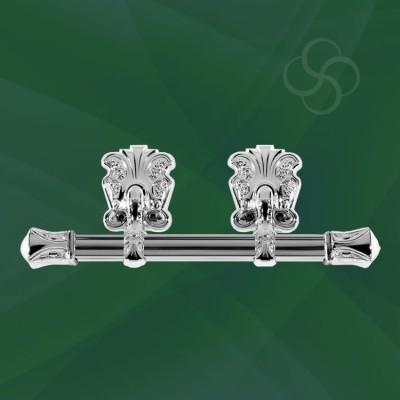 Oscar Bar Handles Metal Silver