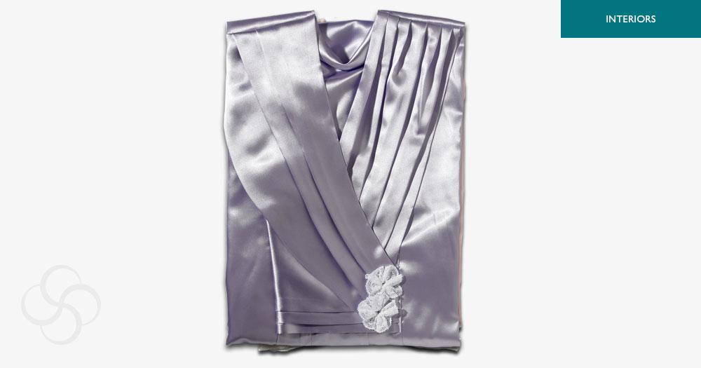 Purple Superior Gown Female