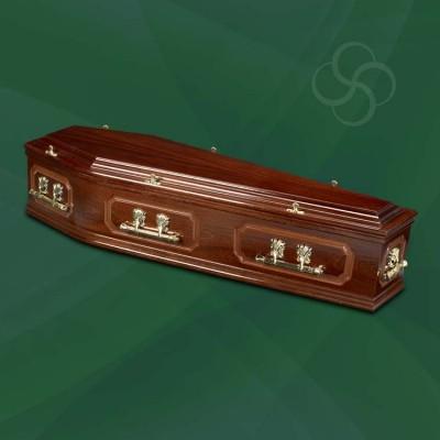 Richmond Coffin Dark Mahogany
