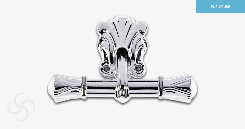 Silver Oscar Bar End Metal
