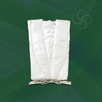 Taffeta Gown White
