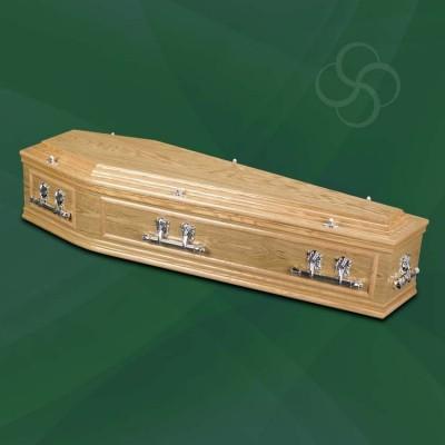 Warwick Coffin Light Oak
