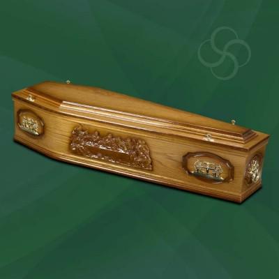 Westminster Coffin Medium Dark Oak