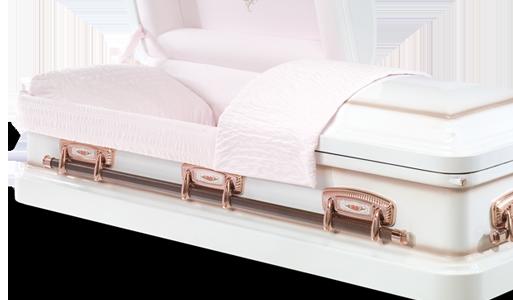 Monroe Stateside metal American casket