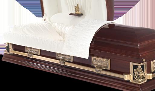 Corpus Christi Stateside wooden American casket