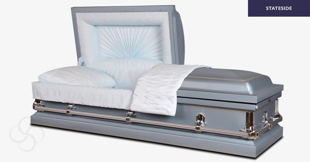 Armstrong Stateside metal American casket