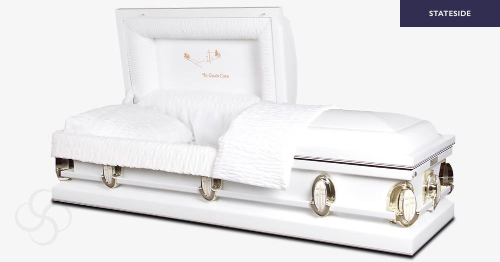 Ashford Stateside metal American casket