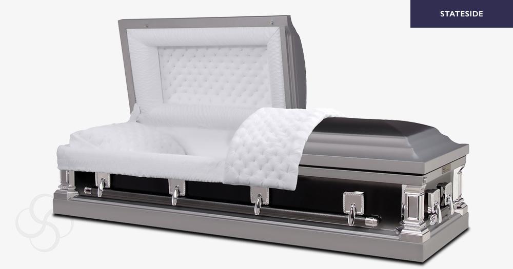 Detroit Stateside metal American casket