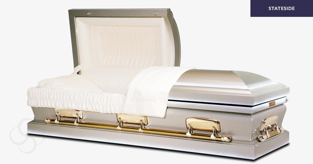 Fonda Stateside metal American casket