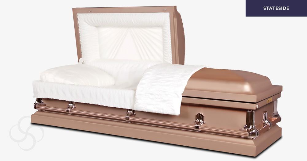 Franklin Stateside metal American casket