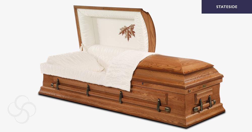 Jefferson Stateside wooden American casket
