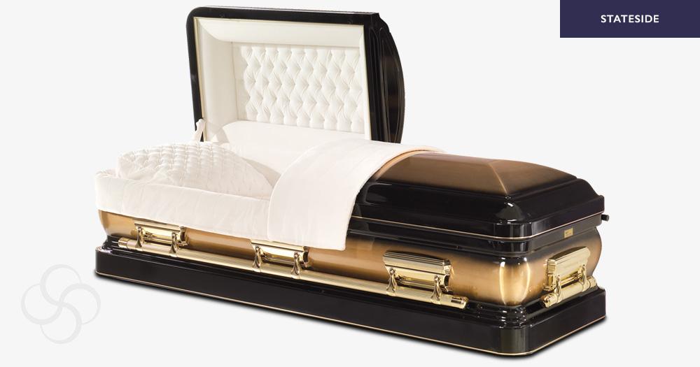 Phoenix Stateside metal American casket
