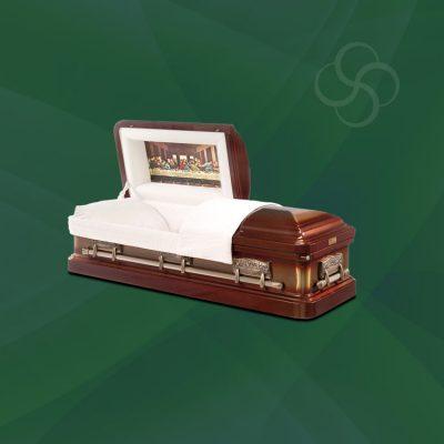 Kennedy Stateside metal American casket