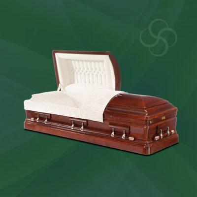 Memphis Stateside wooden American casket
