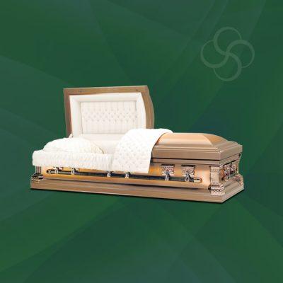Princeton Stateside metal American casket
