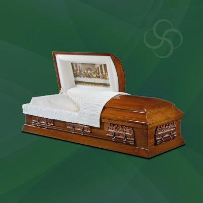 St Louis Stateside wooden American casket