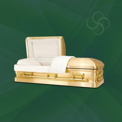 Vegas Stateside metal American casket