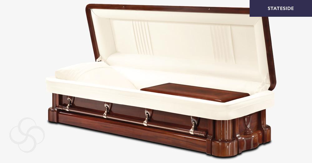 Washington Stateside wooden American casket